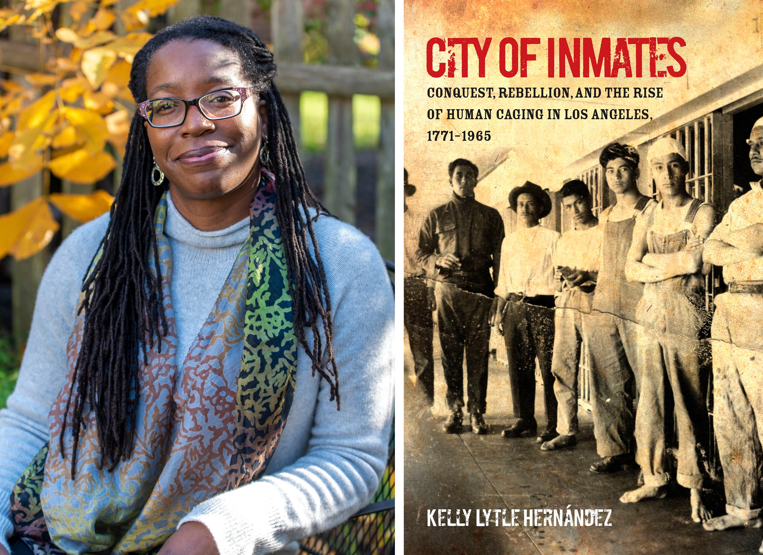 Tiya Miles and City of Inmates book cover.