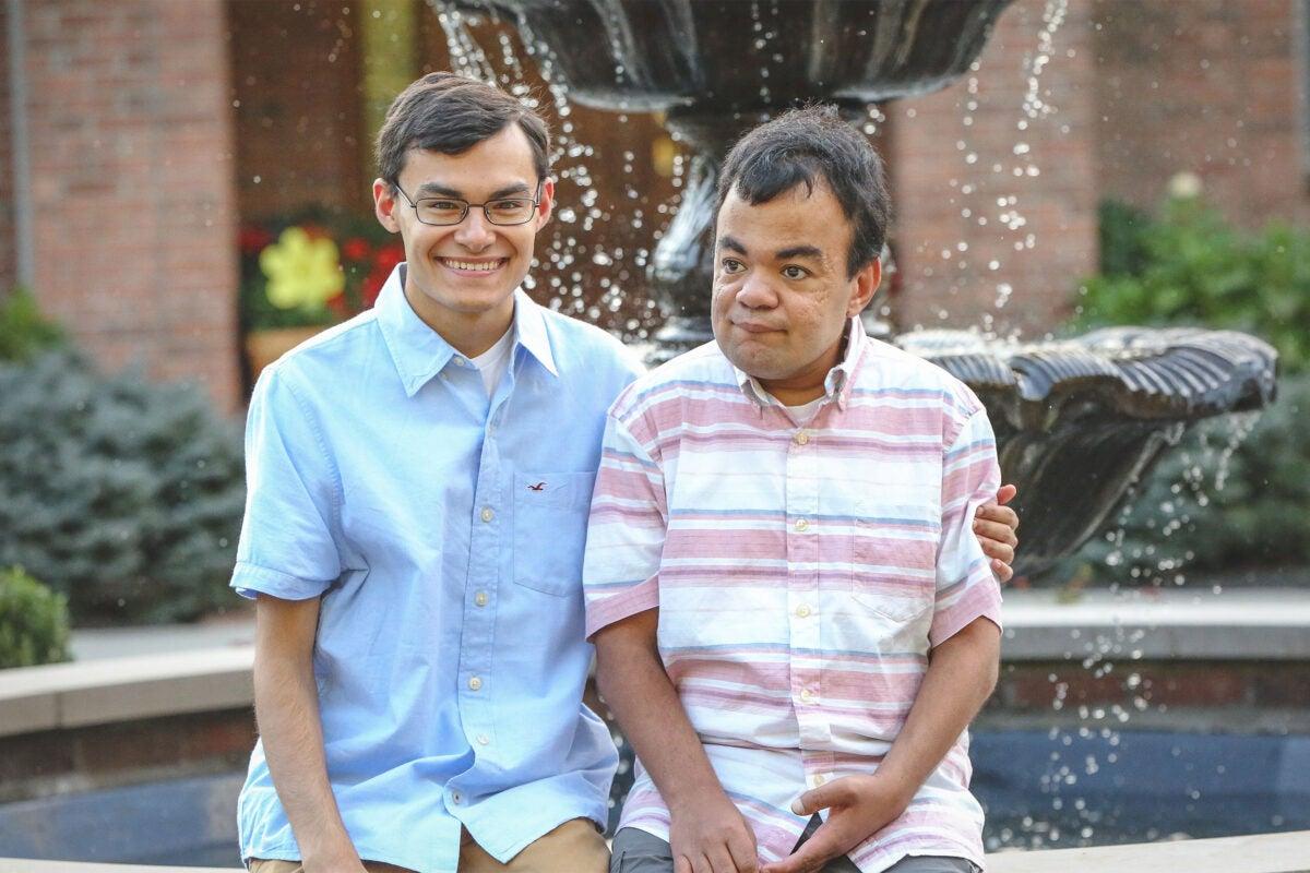 Nathan and Nik Grant.
