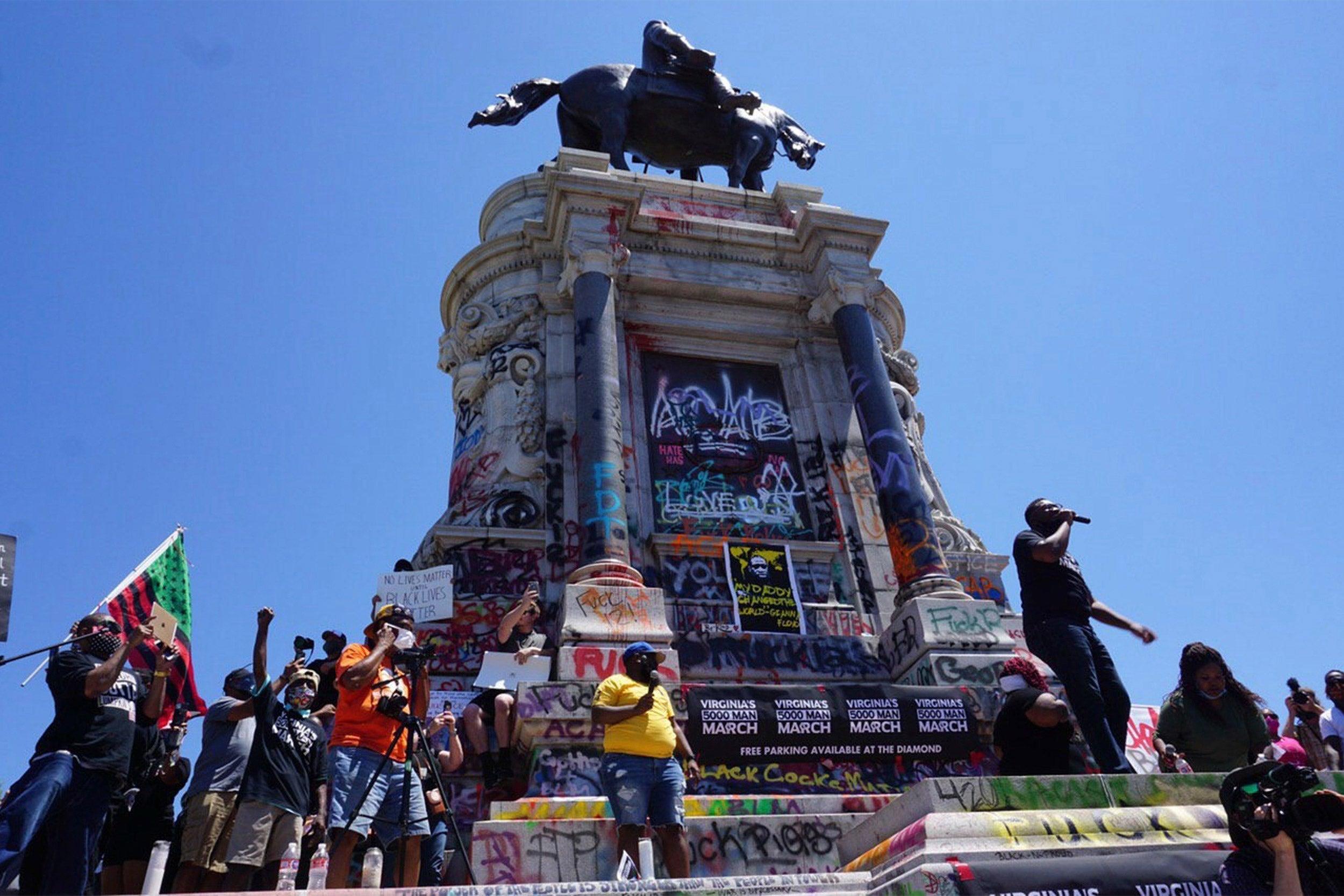Statue of Gen. Robert E. Lee.