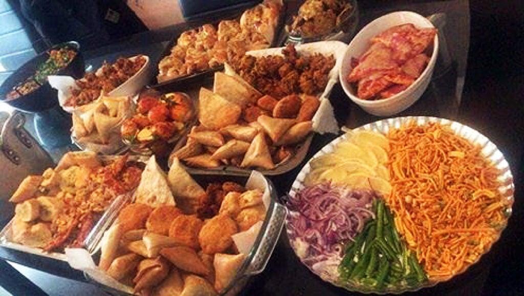 Ramadan spread.