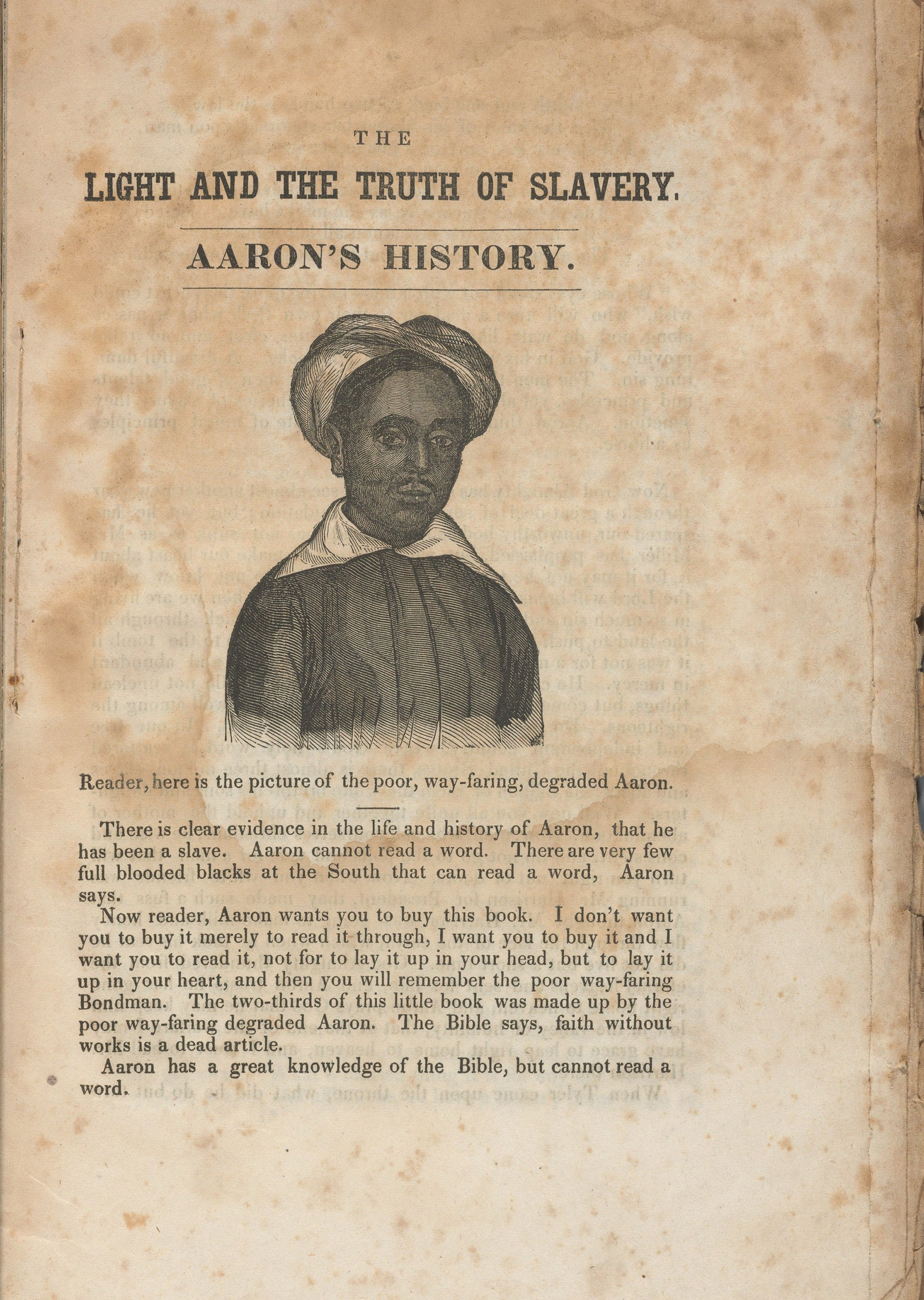 Photos of anti-slavery newspapers, taken by Dorothy Berry as she preps materials for digitization.