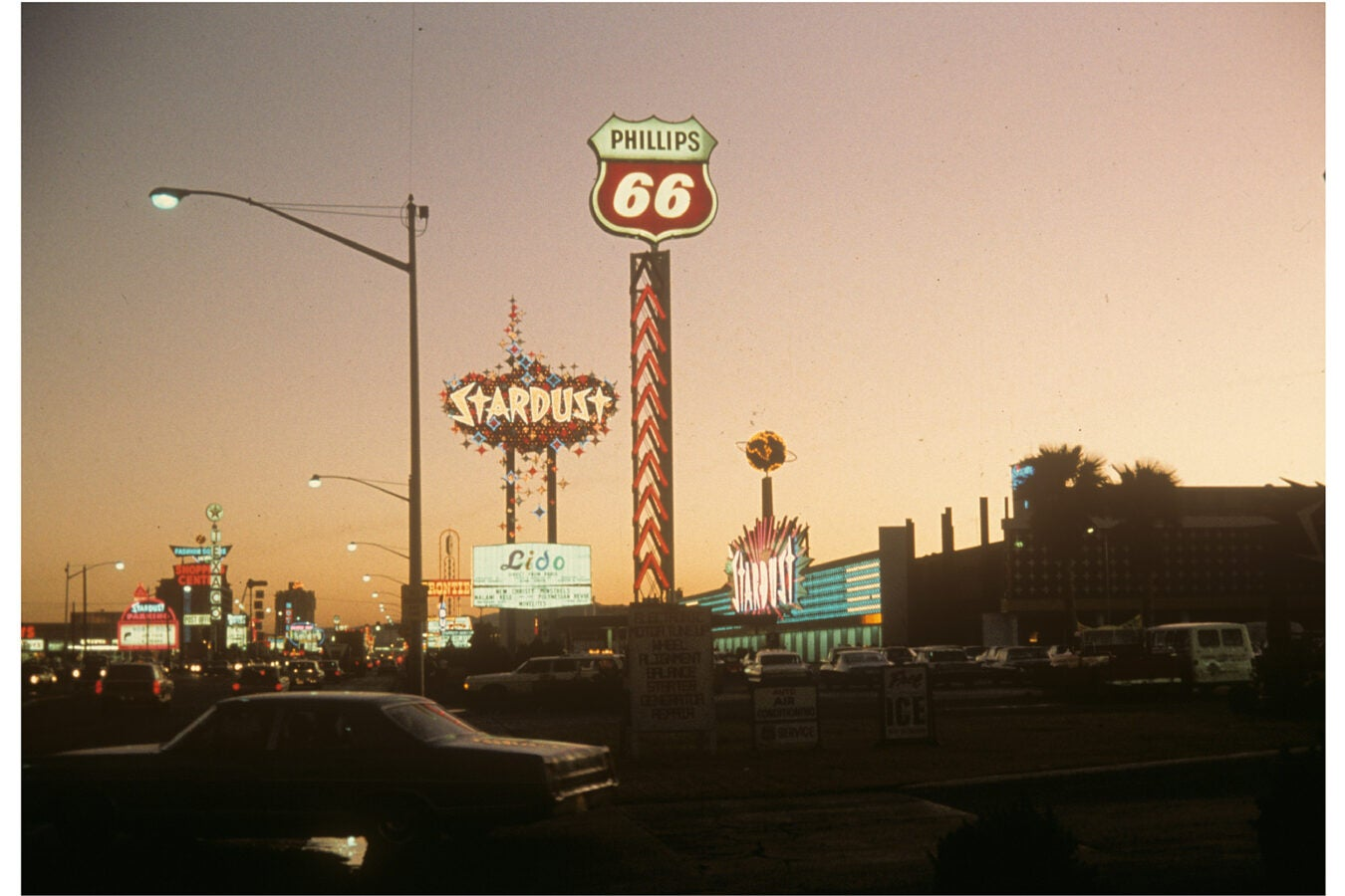 Neon signs in Las Vegas.