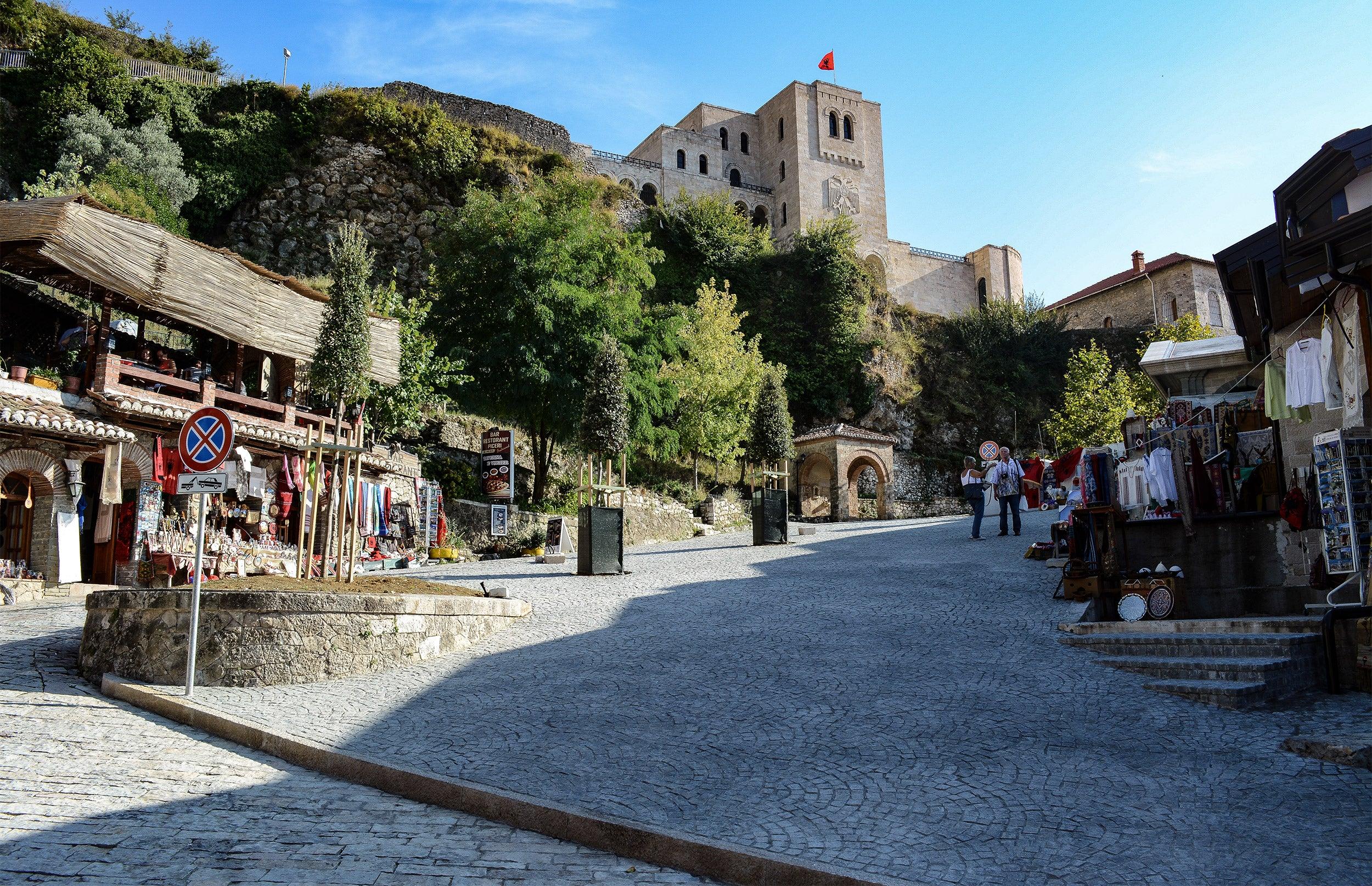 Krujë, Albania.