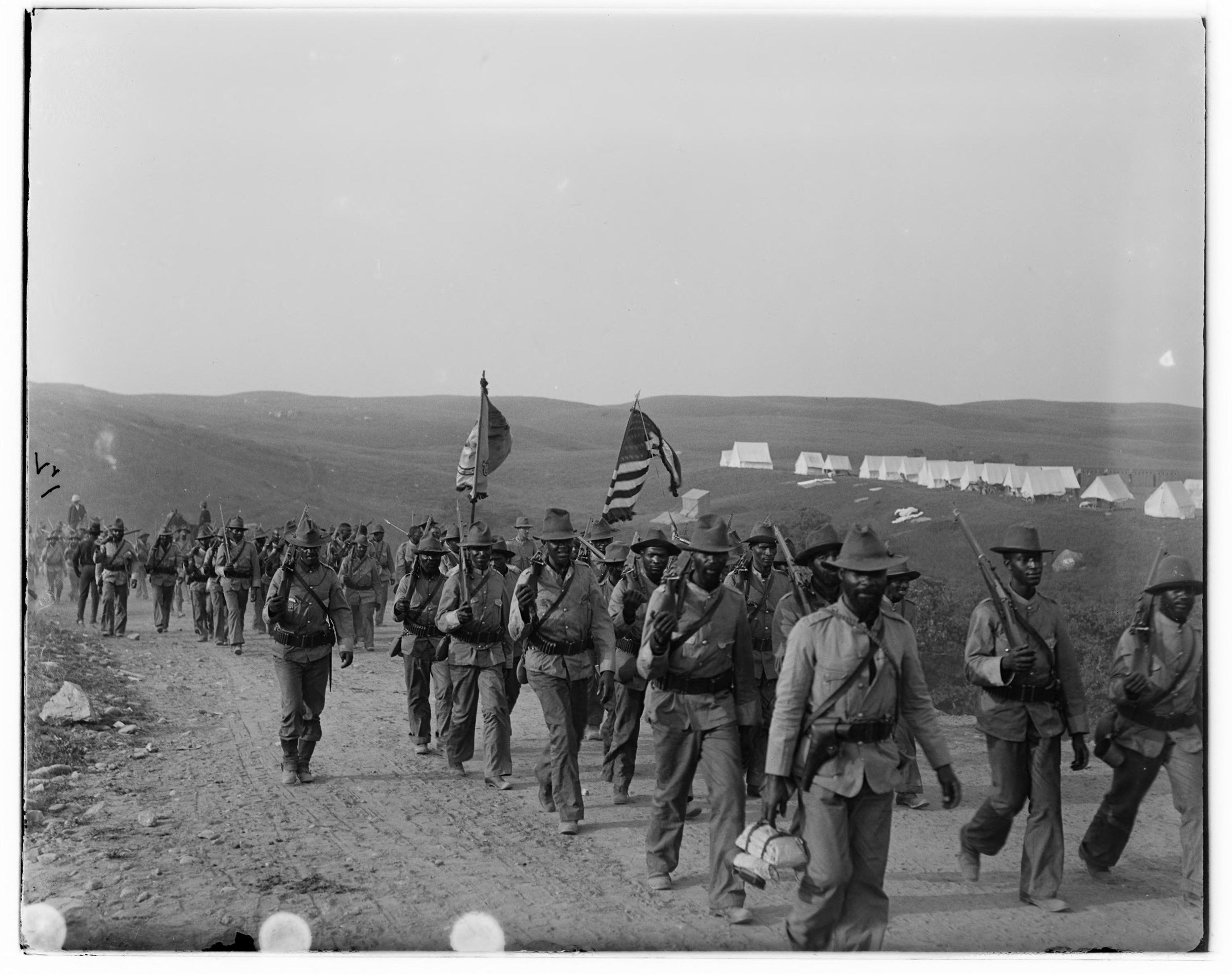 U.S. Army's 24th Infantry Regiment.