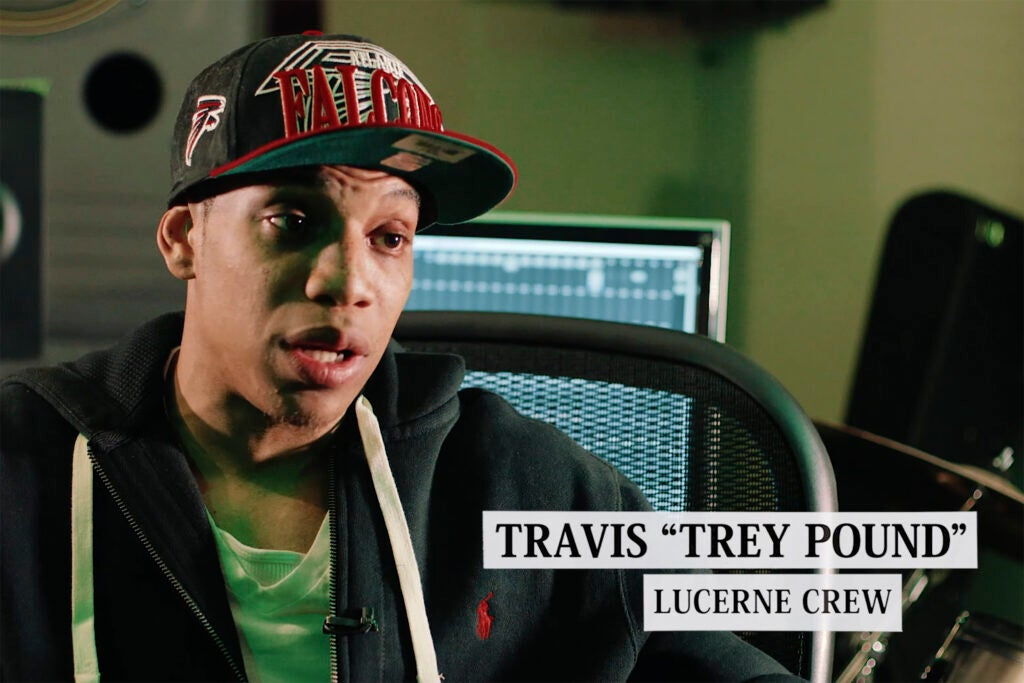 "Travis ""Trey"" Pound."