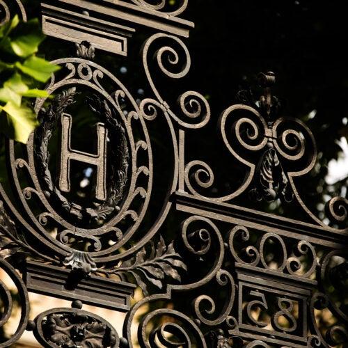 A Harvard gate.