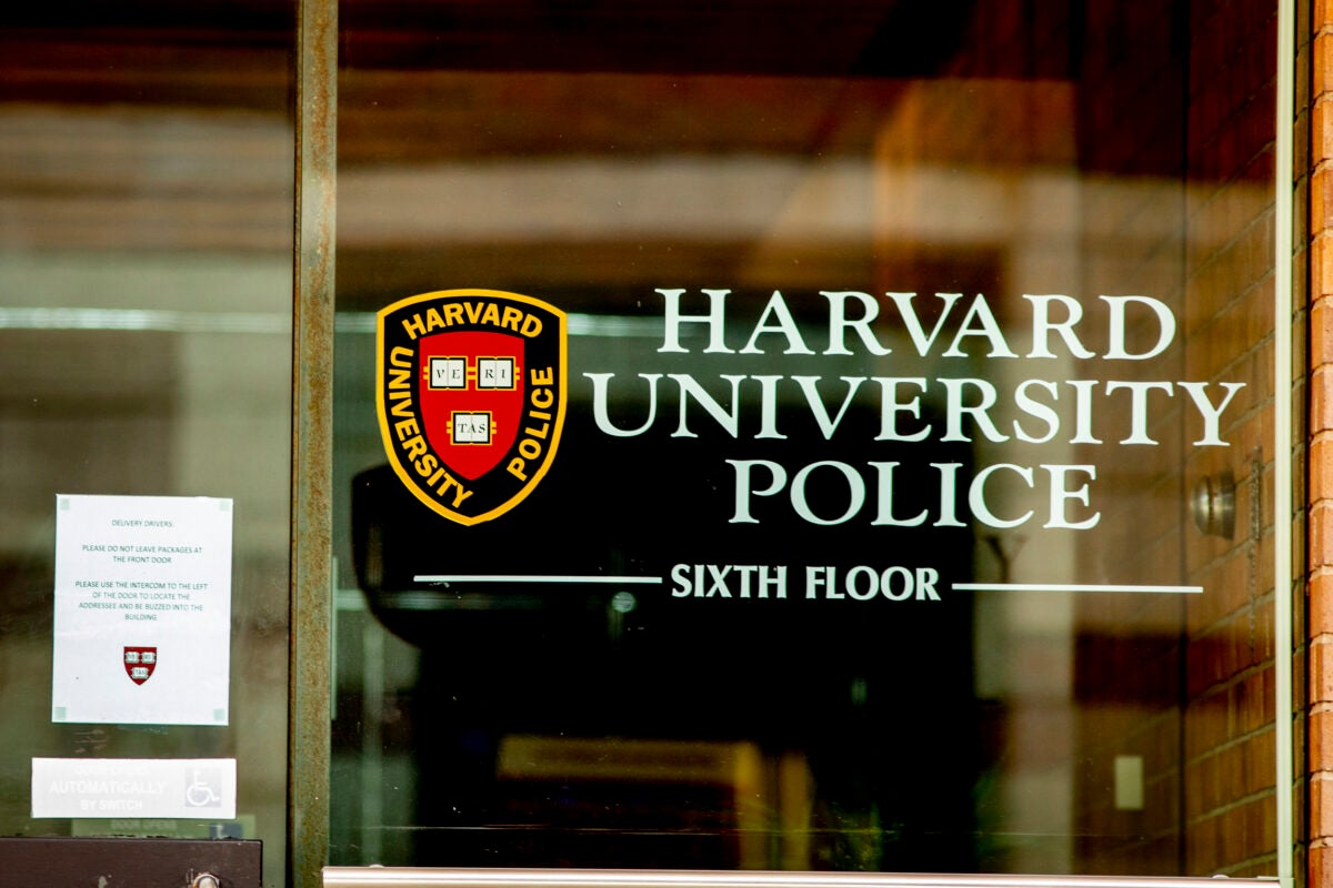 Harvard University Police Department.