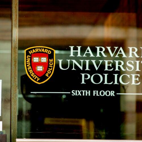 Harvard University Police Department.