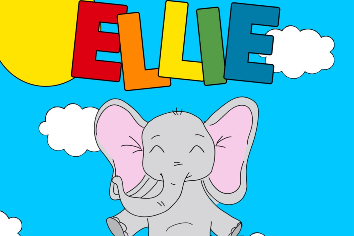 Cover of Ellie the Elephant