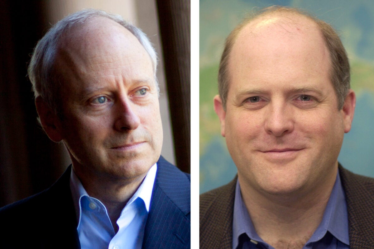 Michael Sandel and Dan Schrag