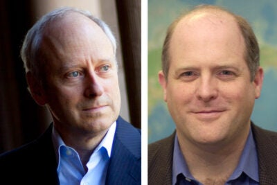 Michael Sandel and Dan Schrag