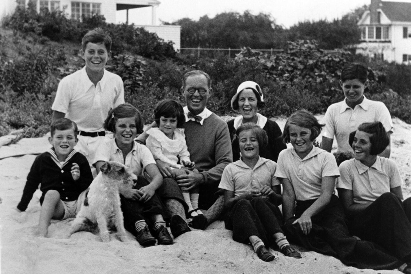 The Kennedy Family at Hyannisport, 1931.