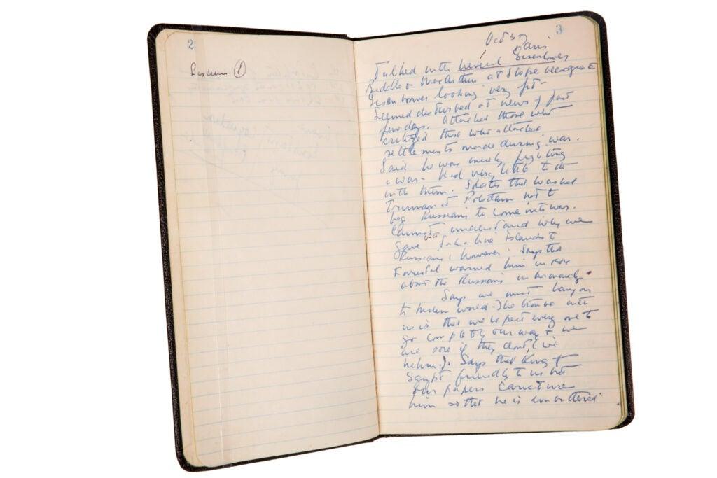 JFK Diary.