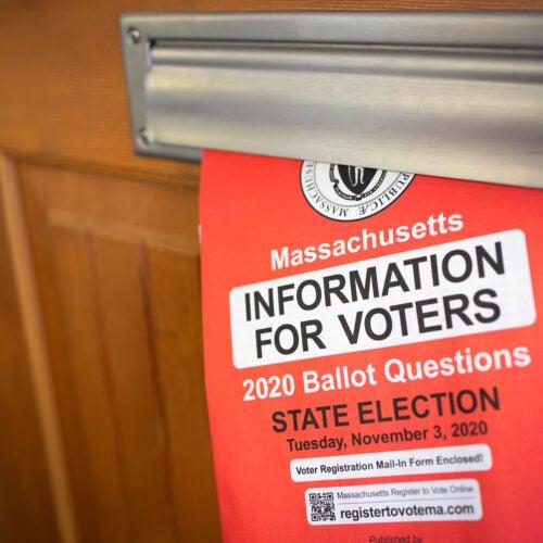 Massachusetts Information for Voters booklet.