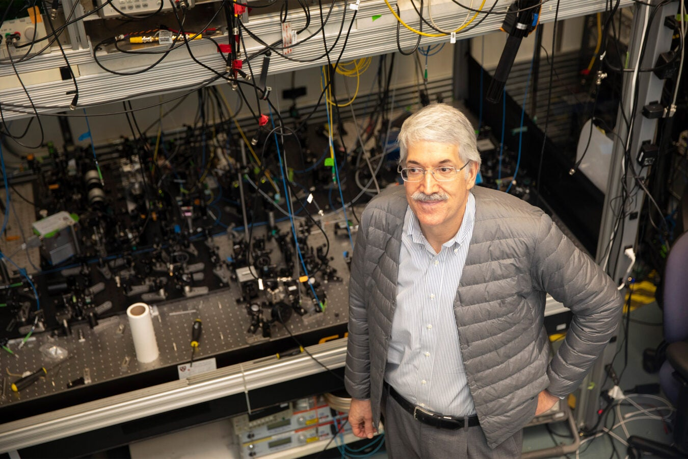 Harvard team uses laser to cool polyatomic molecule