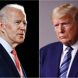 Biden and Trump.