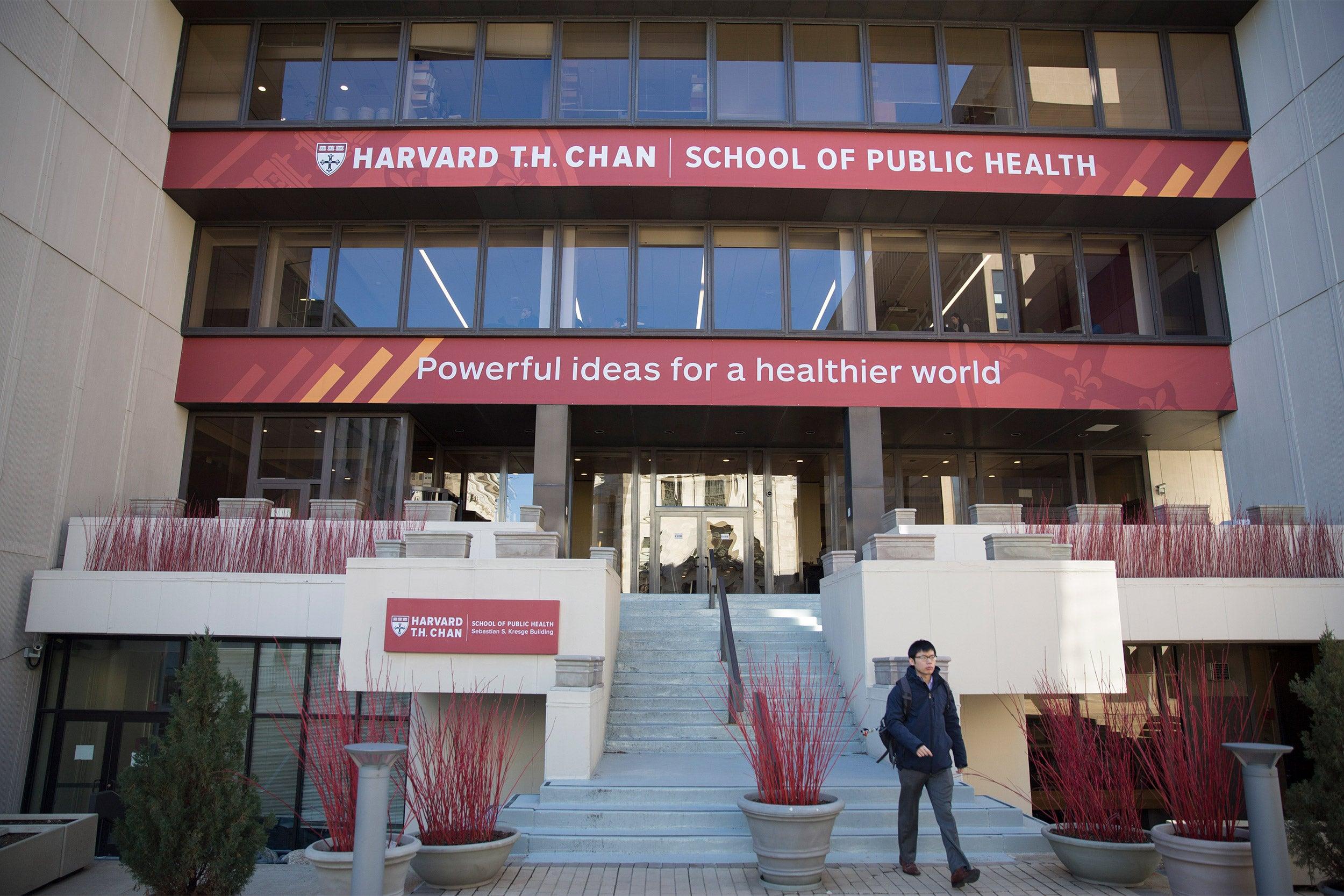 Harvard T.H. Chan School of Public Health.