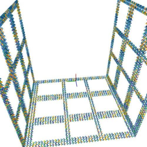 DNA origami graphic.
