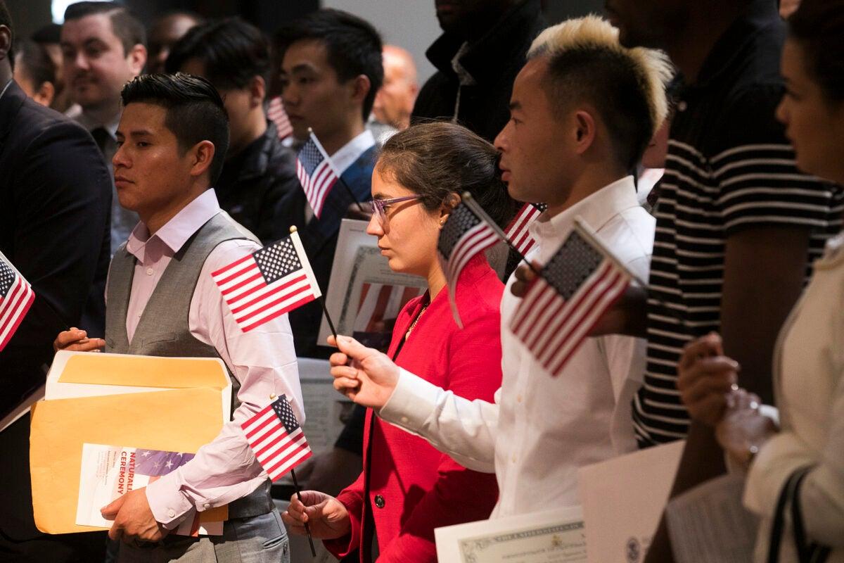 Citizen ceremony.