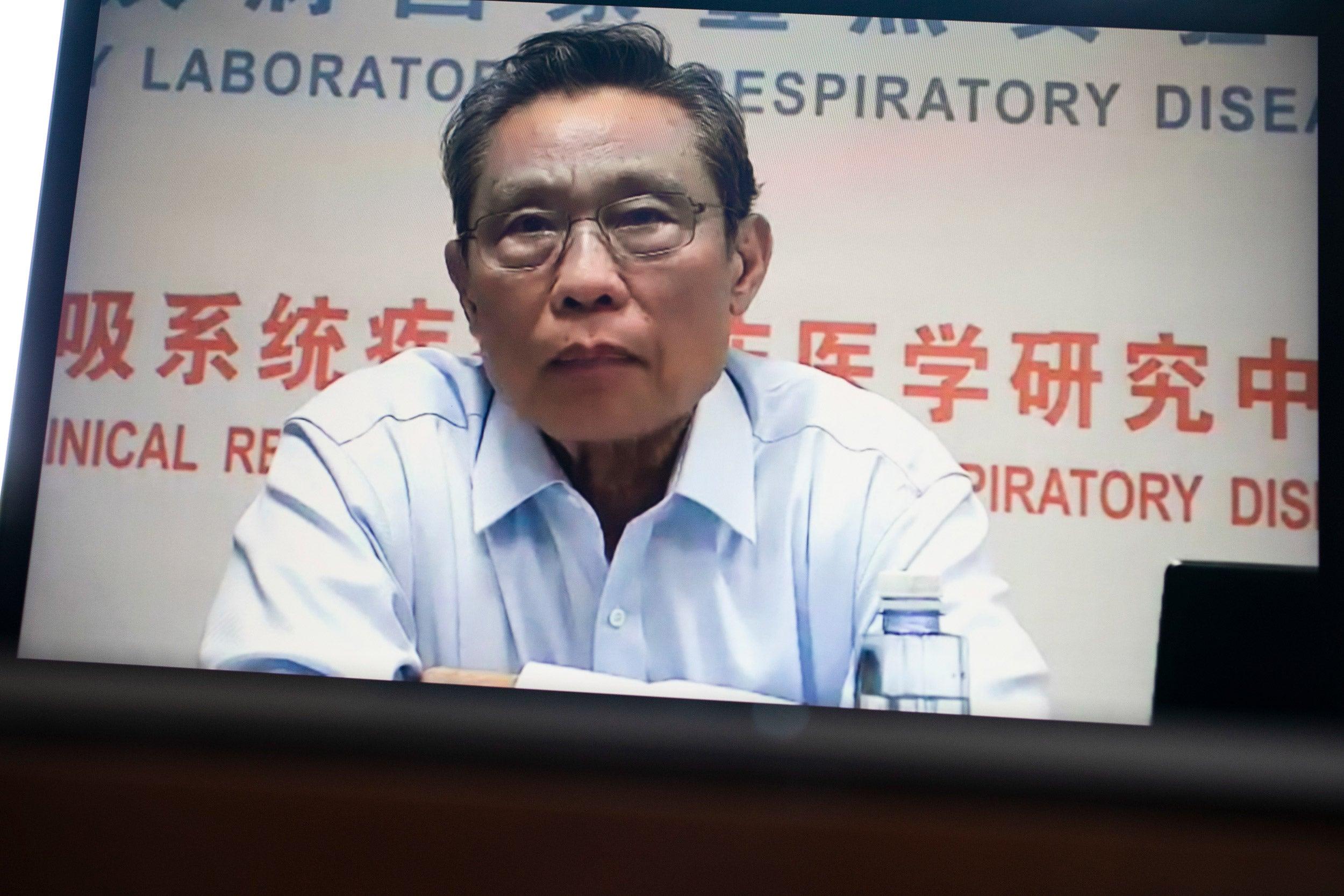 Nanshan Zhong.