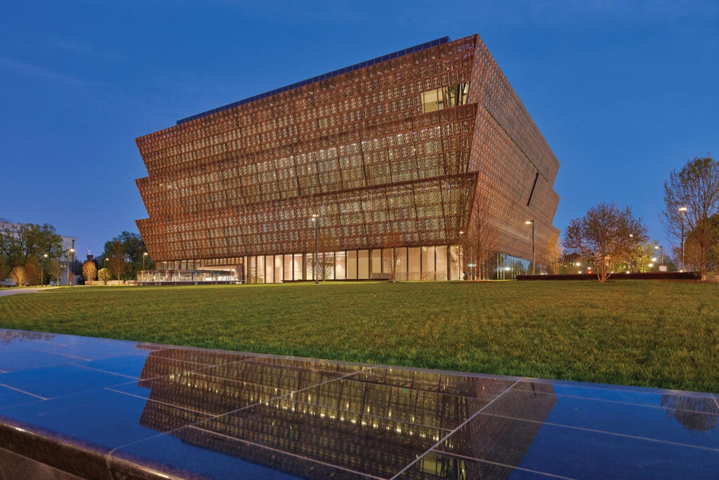Smithsonian Institution, National Museum of African American History and Culture.