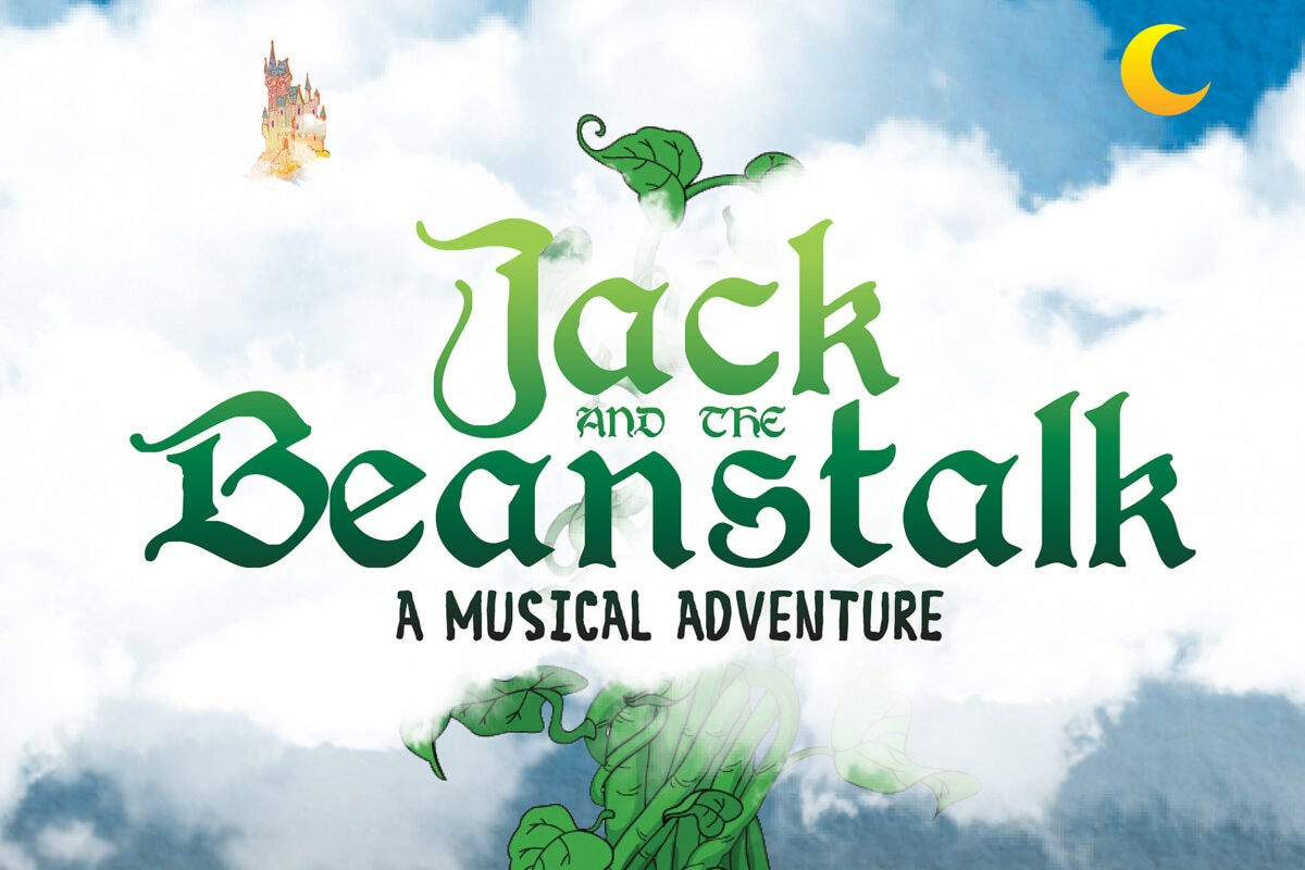 Jack and the Beanstalk title card.