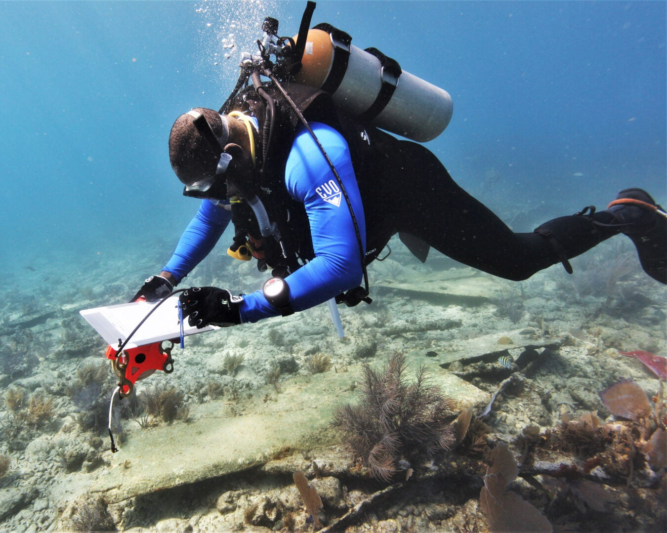 Diving with a Purpose salvages Black history