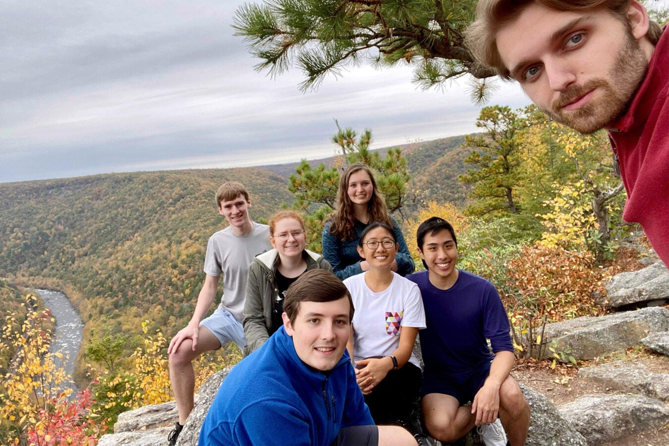 Group of students in Pennsylvania.