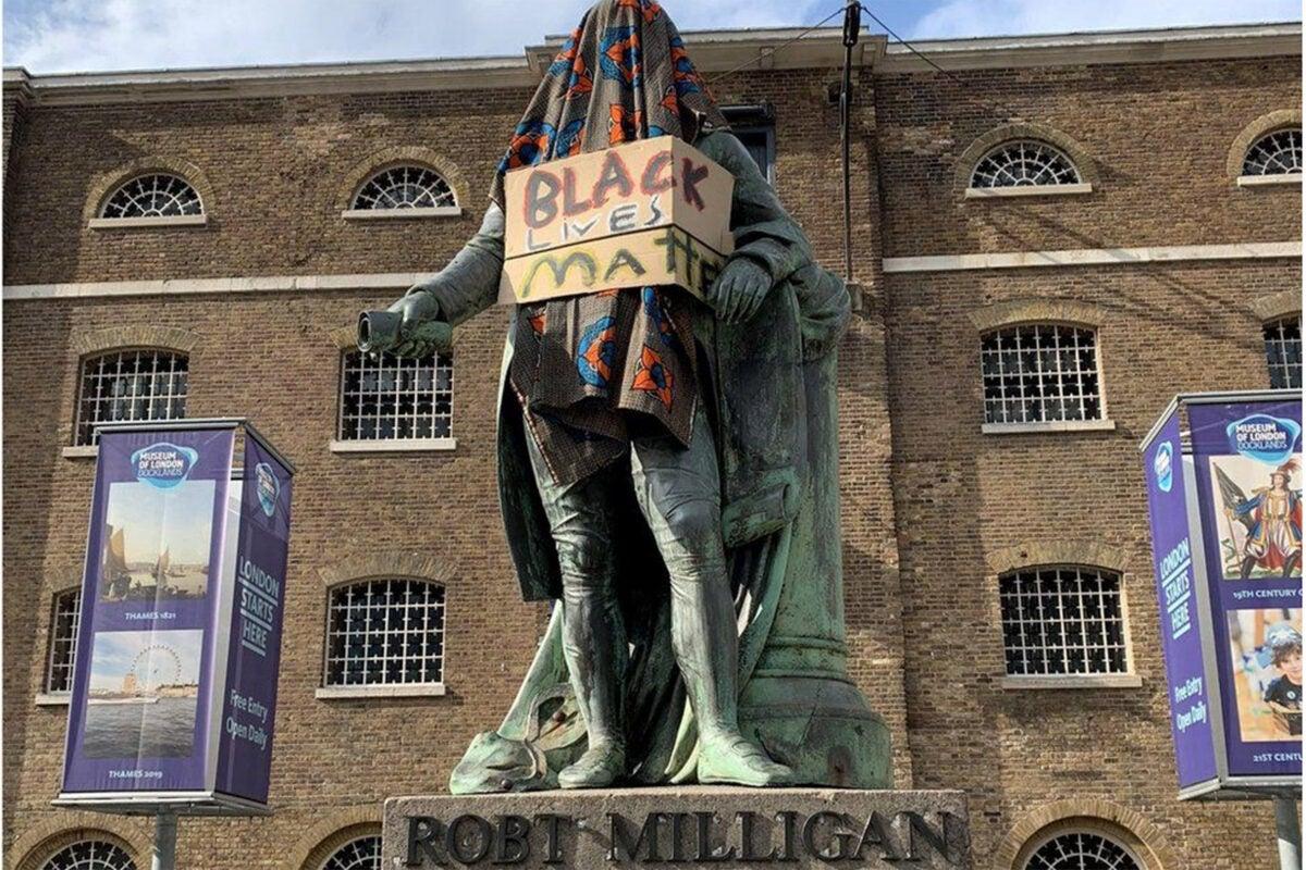 Robert Milligan Statue.