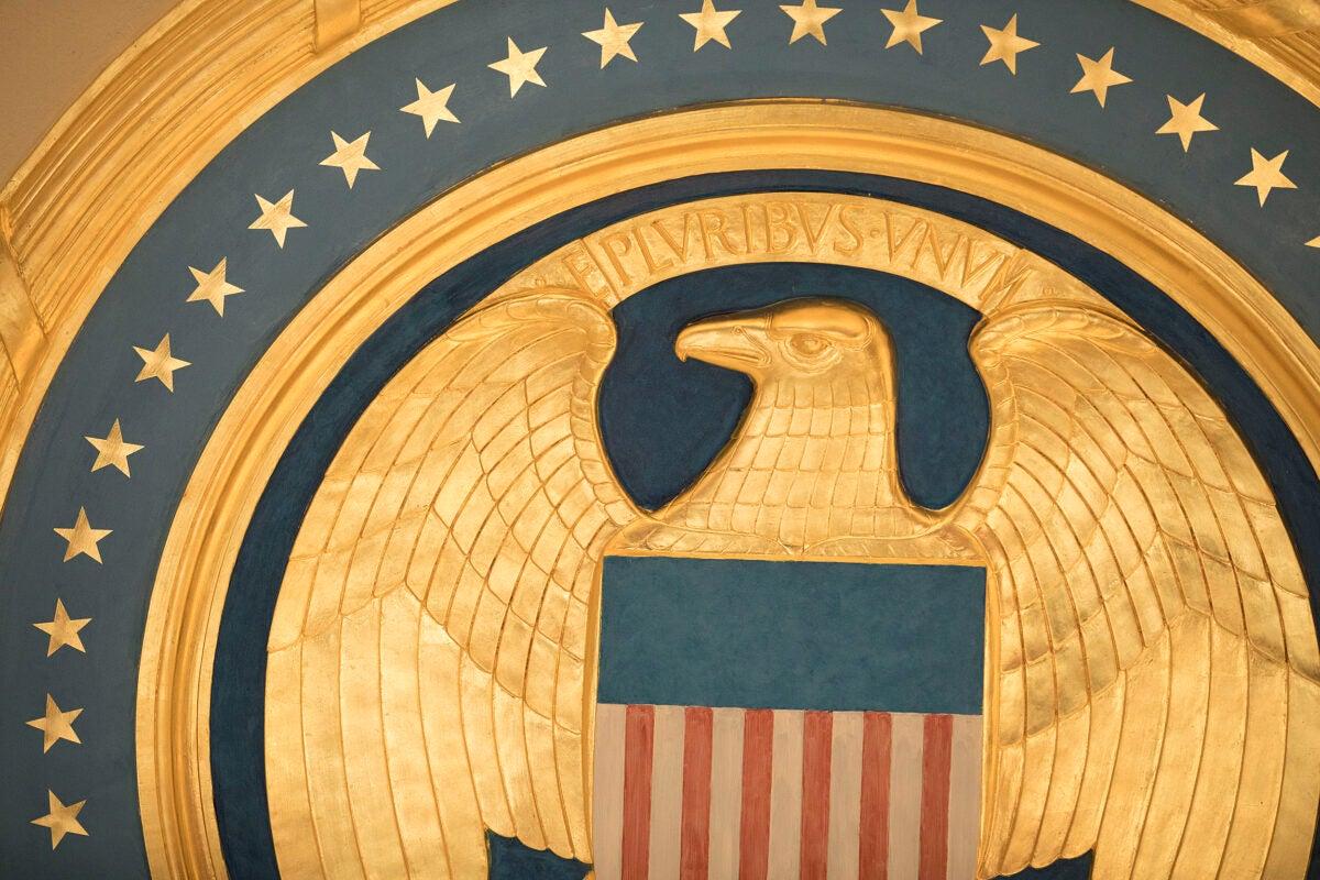 Eagle seal.