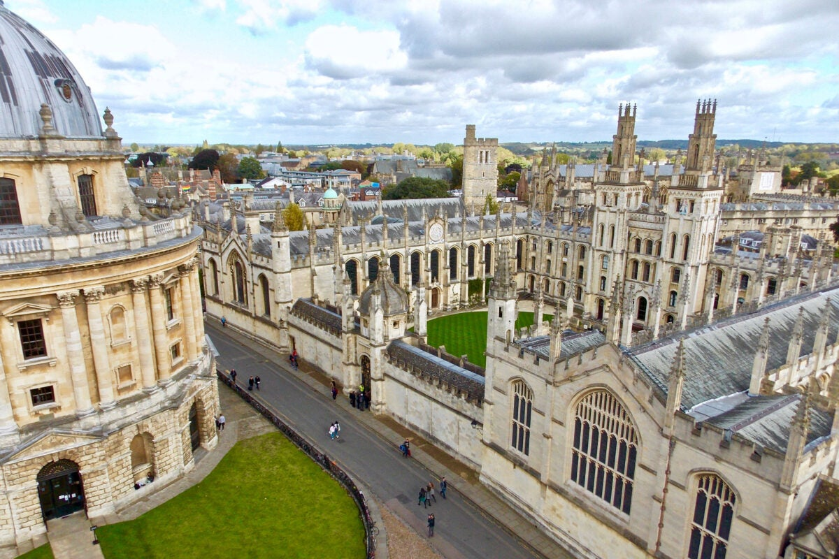Oxford campus.