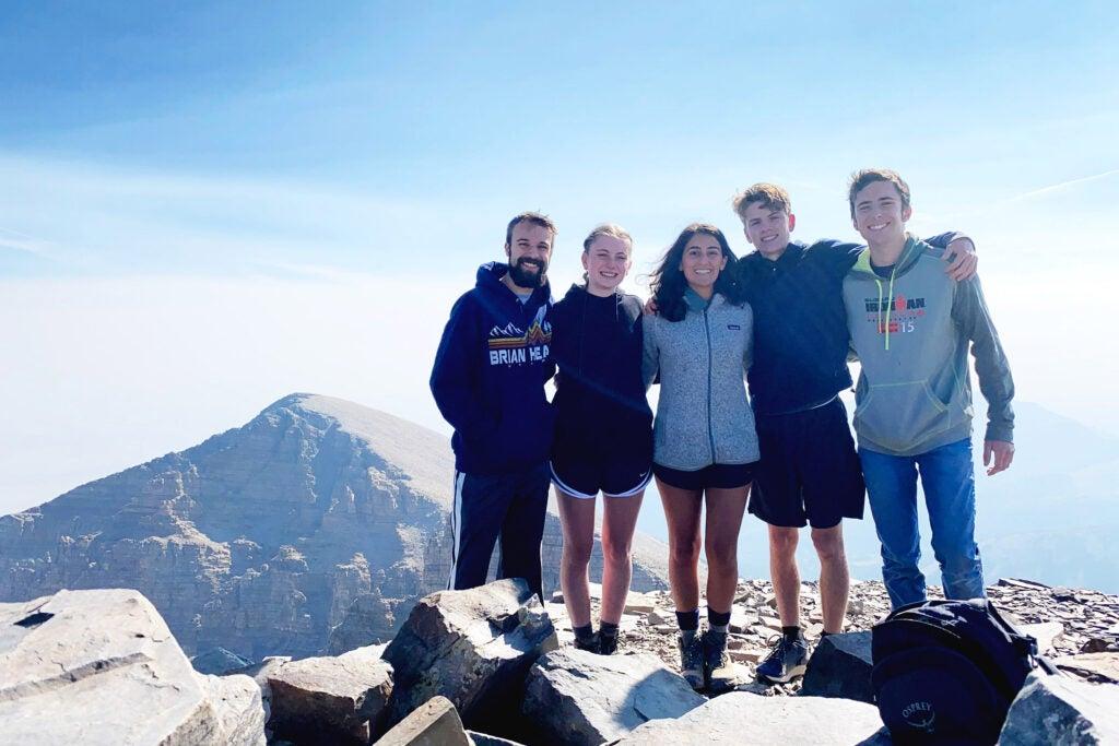 Group of students in Utah.