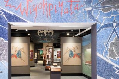 Peabody Native American exhibit.