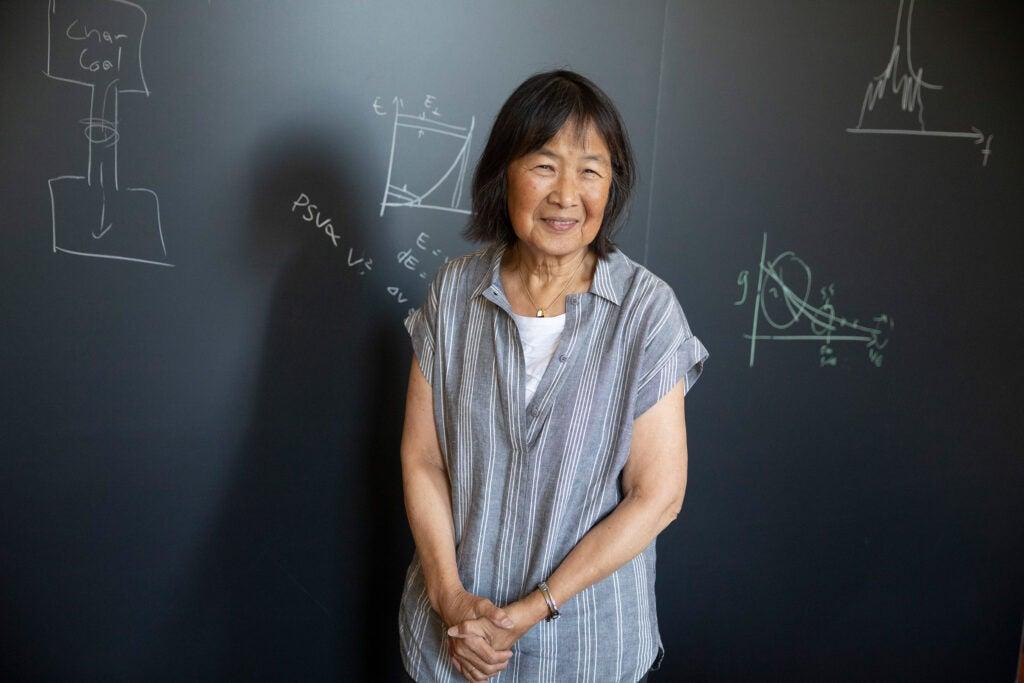 Evelyn Hu.