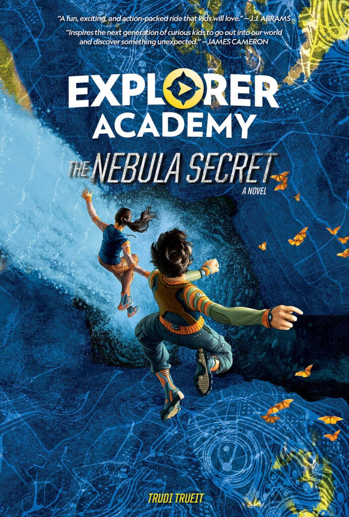 "Cover: National Geographic's ""Explorer Academy"" series by Trudi Trueit."