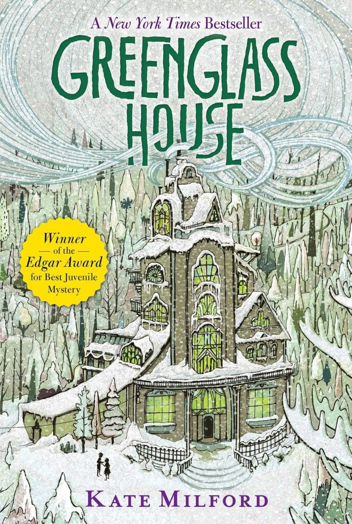 "Cover: ""Greenglass House"" by Kate Milford."