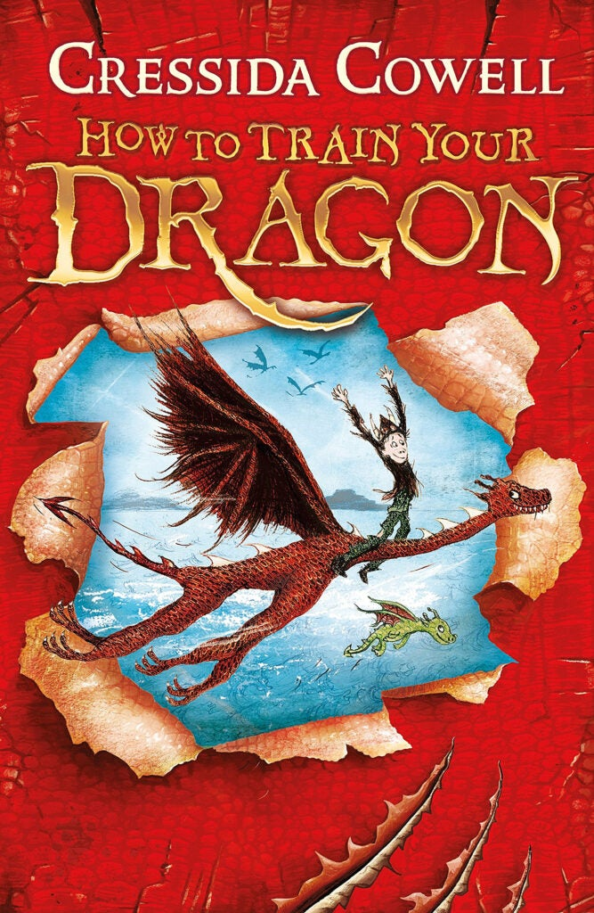 "Cover: ""How to Train Your Dragon"" series by Cressida Cowell ."