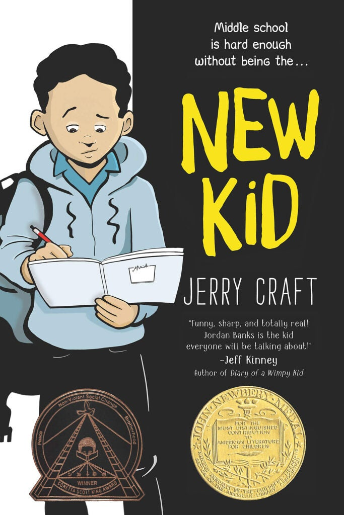 "Cover of ""New Kid"" by Jerry Craft."