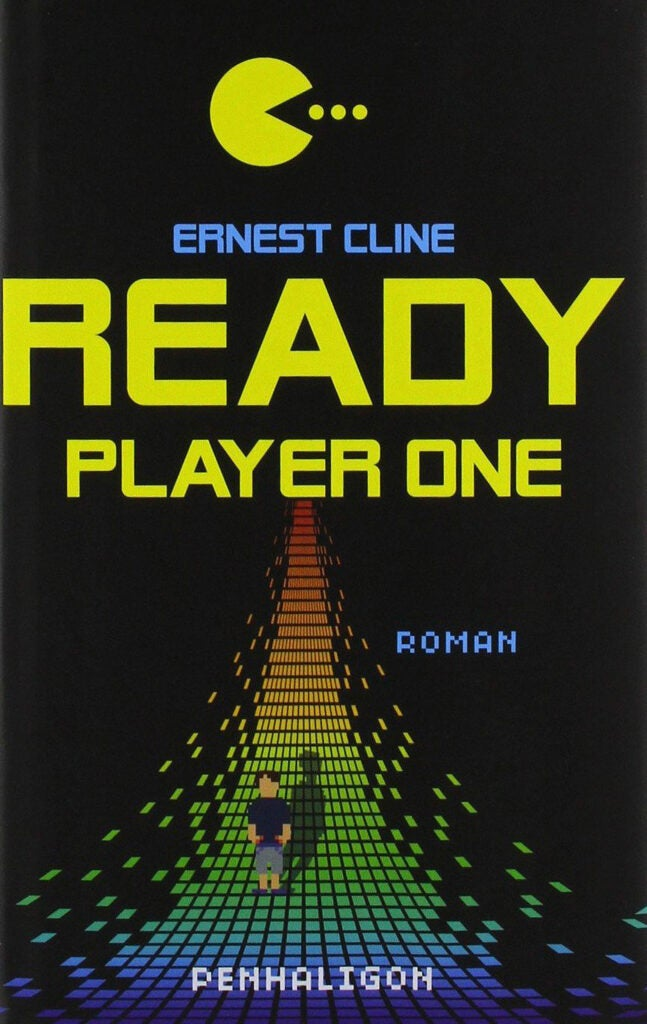 "Cover of ""Ready Player One"" by Ernest Cline."