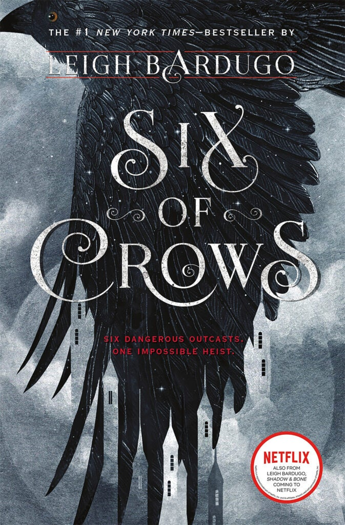 "Cover of ""Six of Crows"" by Leigh Bardugo."