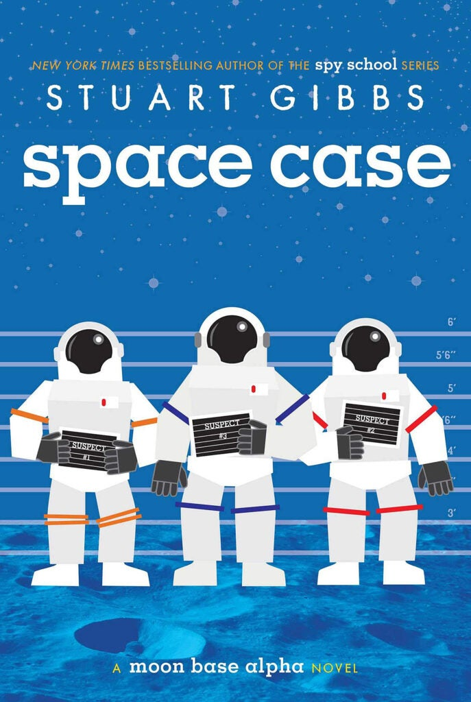 "Cover: ""Space Case"" by Stuart Gibbs."