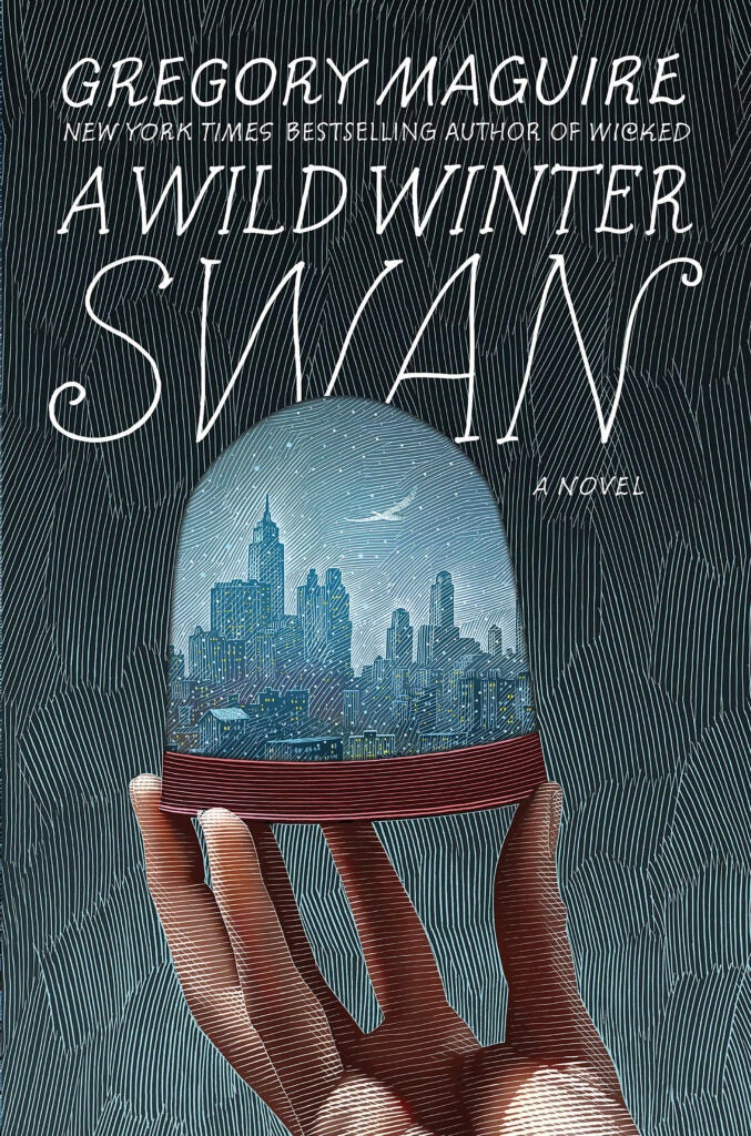 "Cover of ""A Wild Winter Swan"" by Gregory Maguire."