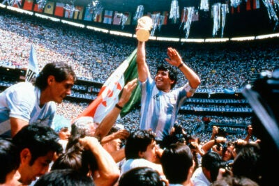 Diego Maradona in 1986.