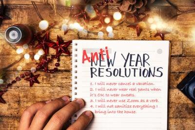 Anti-Resolutions list.