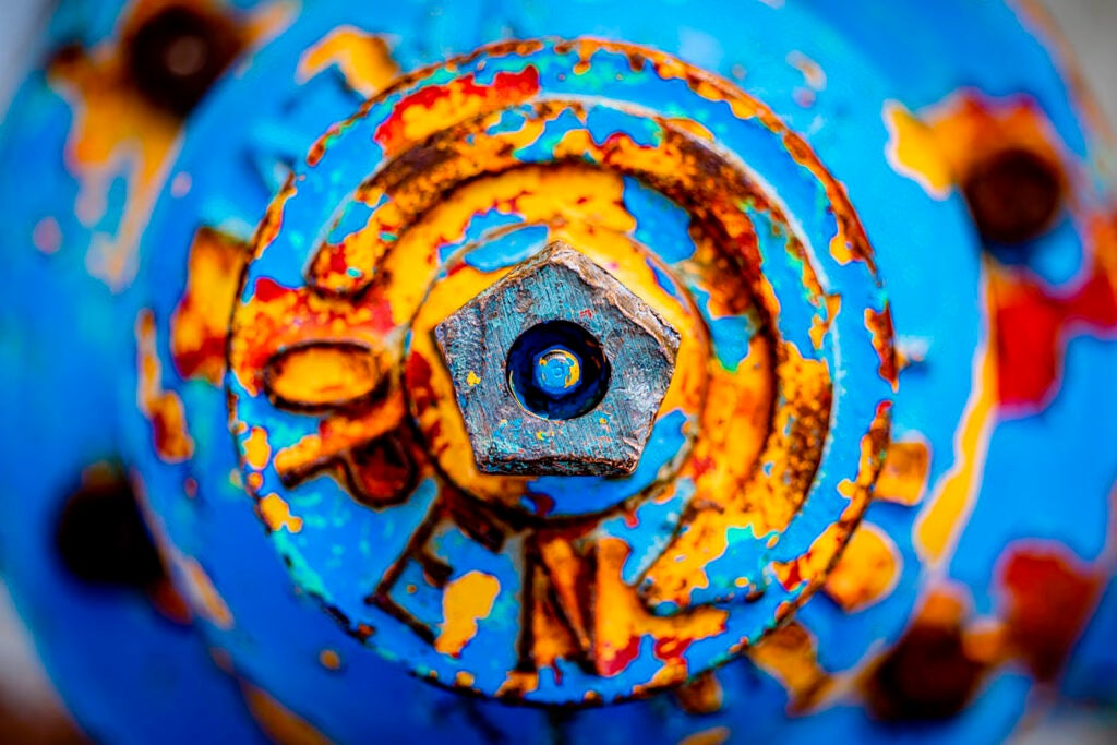 Photo of hydrant.