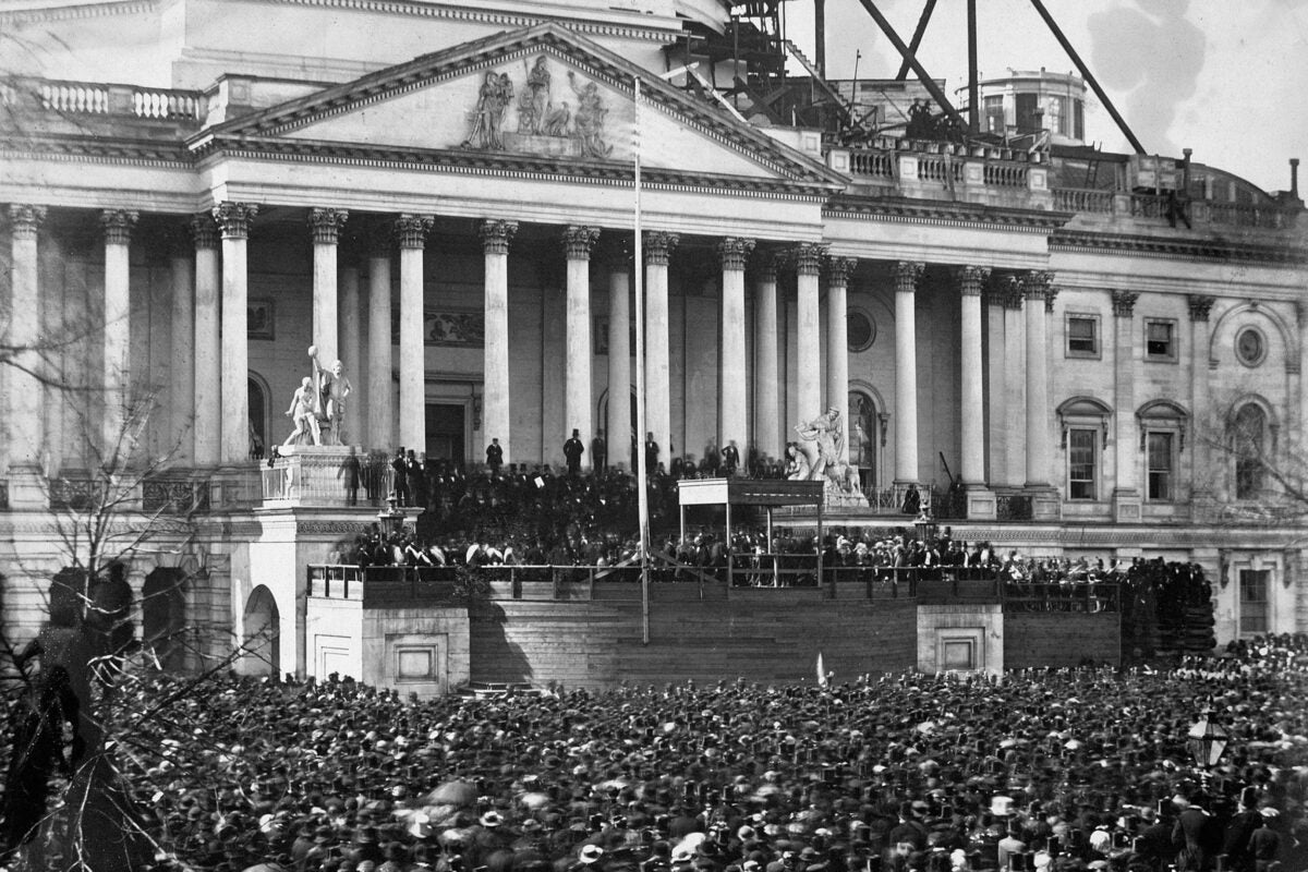 Abraham Lincoln's inauguration.