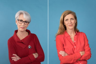 Wendy Sherman and Samantha Power.