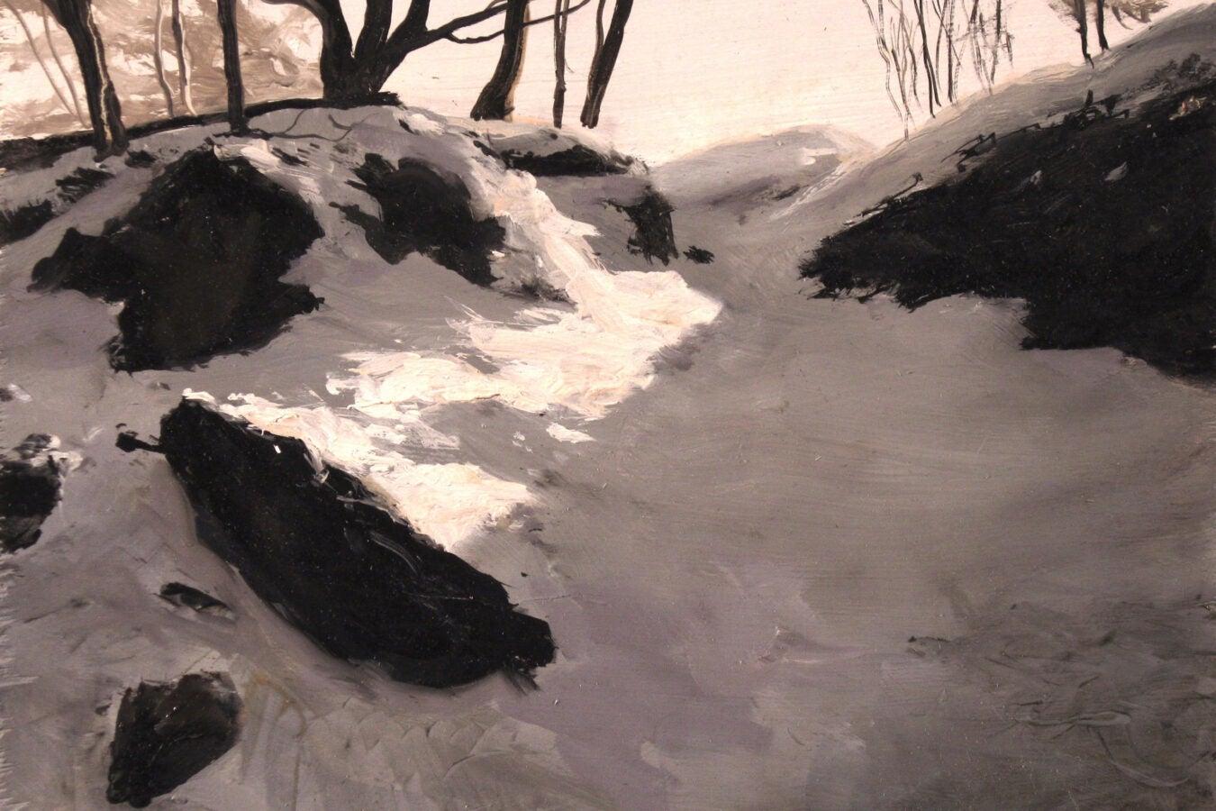 """""""Near Top of Hemlock Hill"""" by Tony Apesos"""
