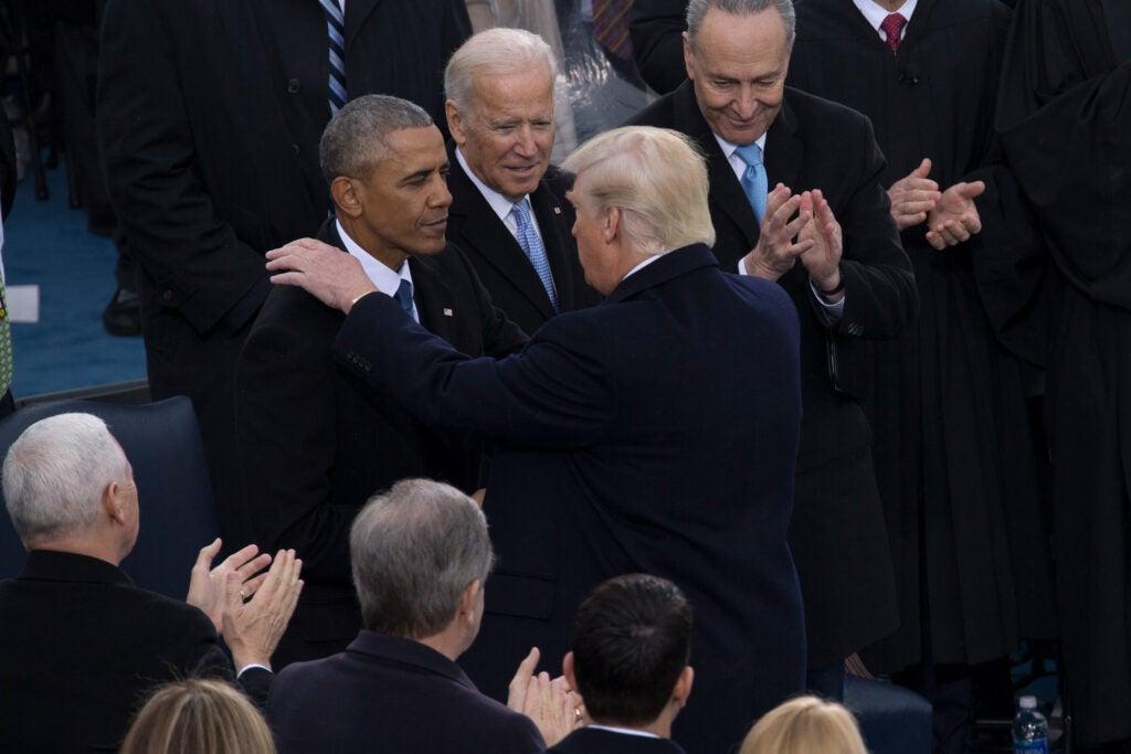Trump inauguration Jan. 20, 2017