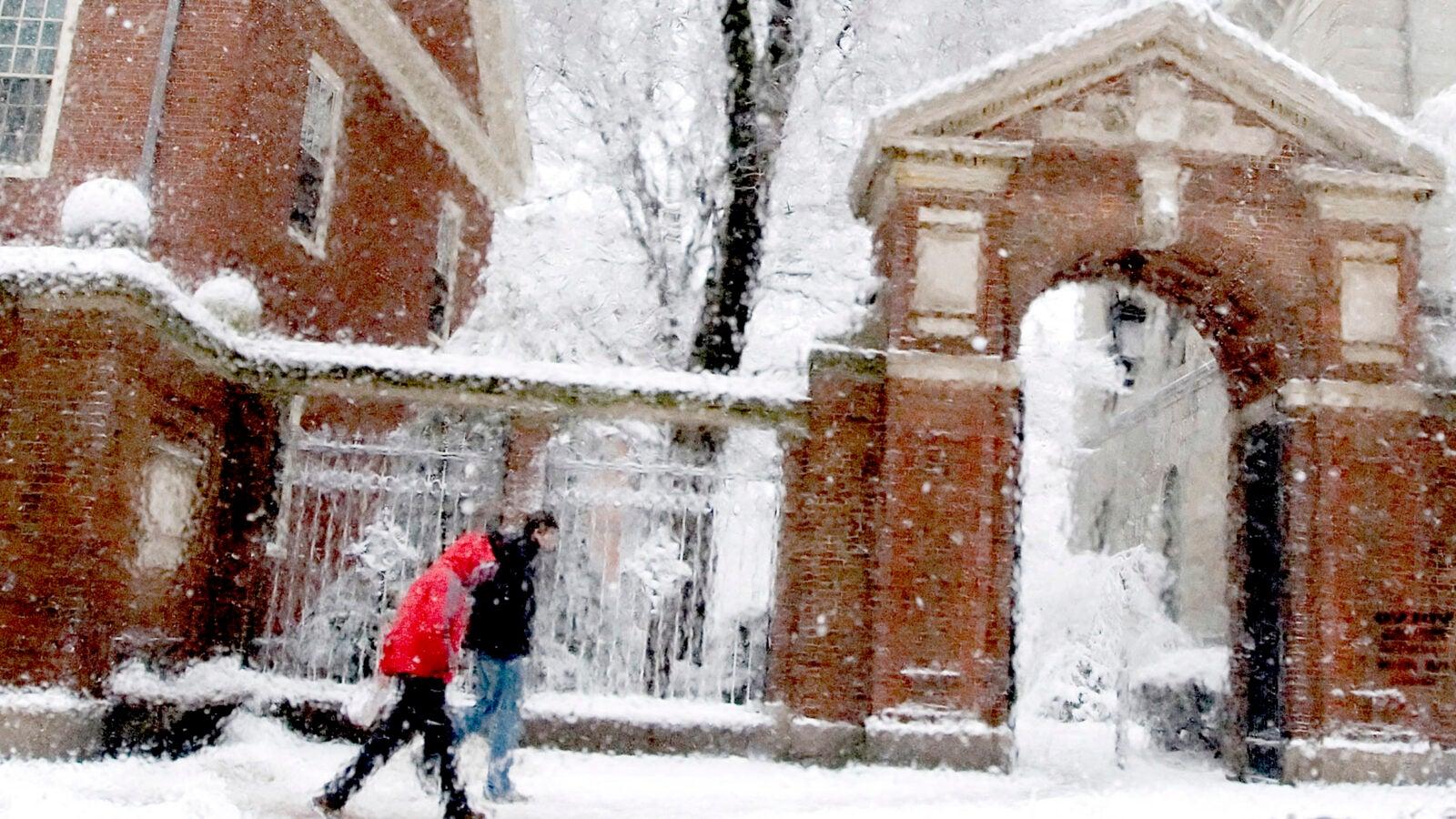 Snowy day in 2007.